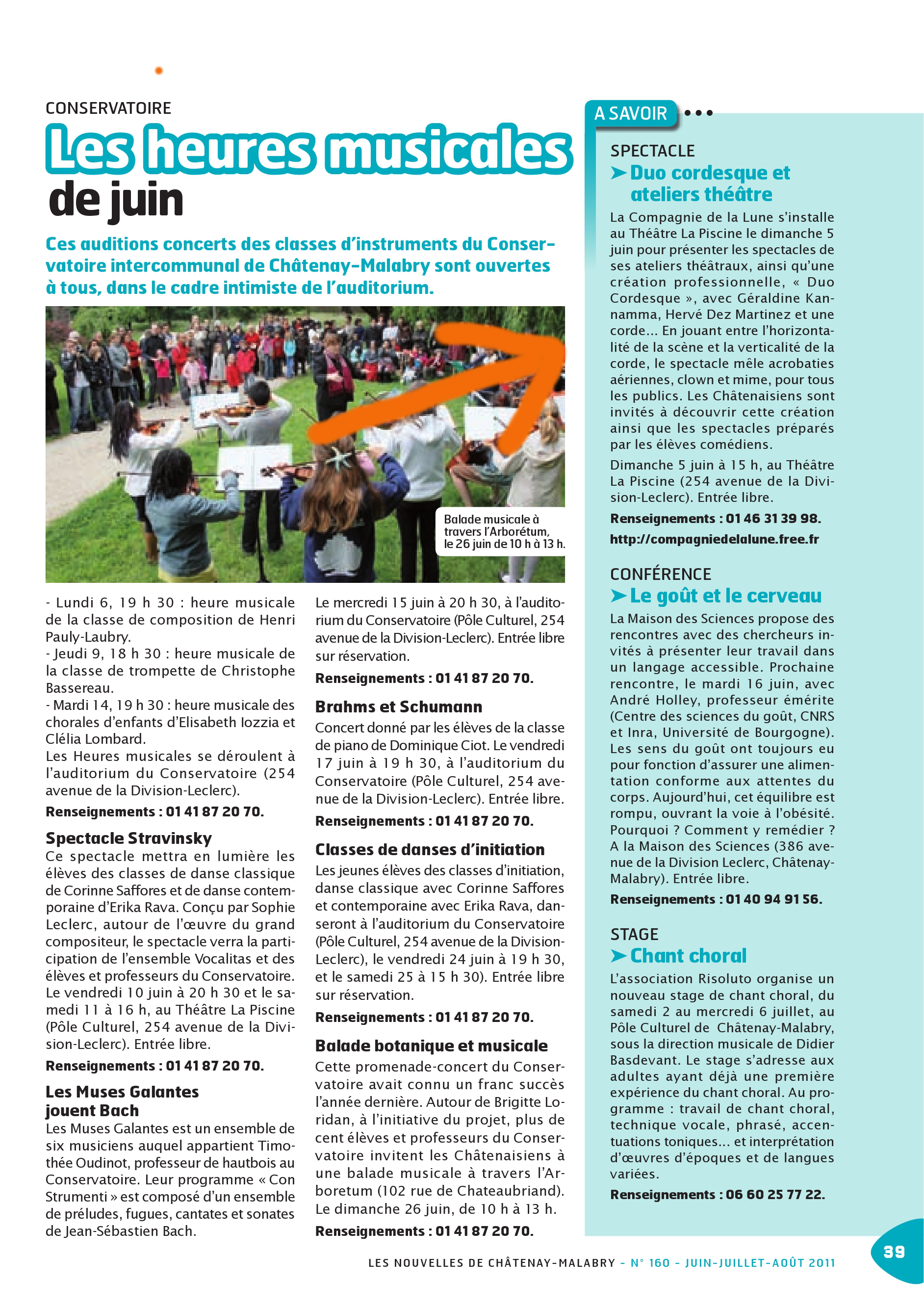 Article DUO 5 Juin 2011