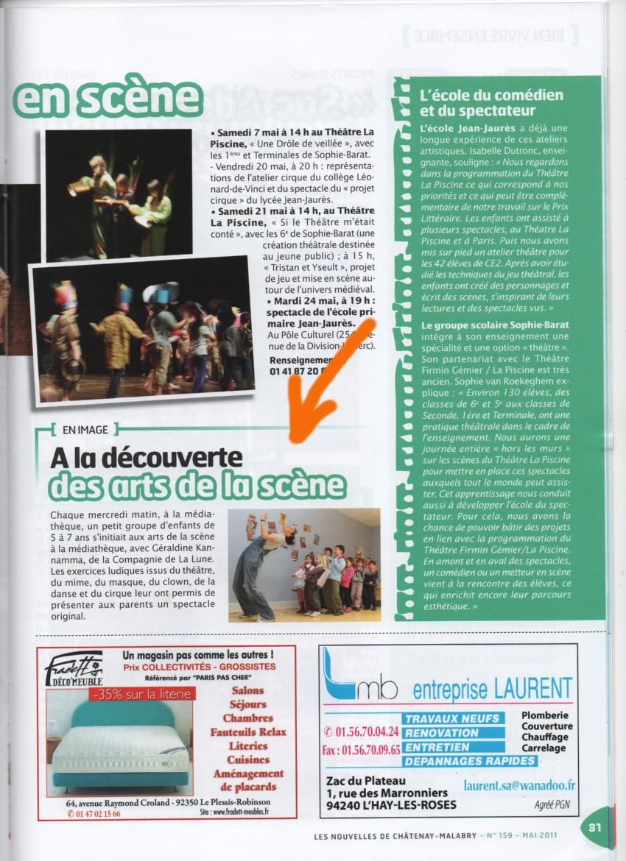 Atelier Mediathèque - Nouvelles