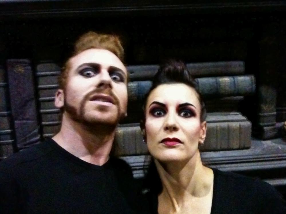 Duo vampires Dracula, l'amour plus fort que la mort